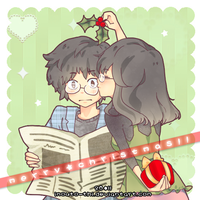 Christmas Kiss by Imouto-Thi