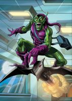 The Green Goblin by Simon-Williams-Art