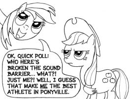 The Best Athlete in Ponyvile by SamuelEAllen