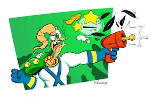 Earthworm Jim by luismario