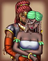 [Commission] Luu and Amanitore by Voleno