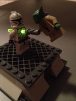 Lego Clone vs Yoda LED by frozeneli