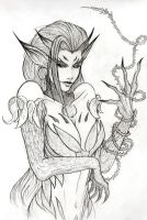 Zyra: First Sketch by Admidus