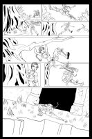 Tomb Raider Fancomic Inks by MelonieMac