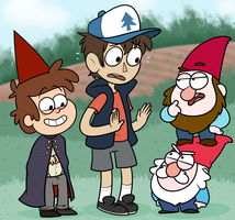 GNOMES by Nukeleer
