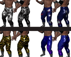 Wrestling Tights Texture Work by sedartonfokcaj