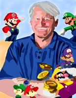 Charles Martinet no pen by daylover1313