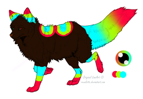 New OC Rain-Bow by Keshvel