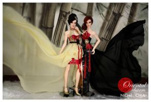 Oriental Charm Collection 4 by Nigelchia