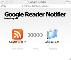 .DMG package for Google Reader by gio