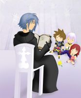 Kingdom Hearts - Storytime by LightningGuy