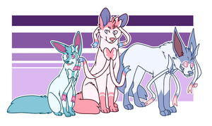 Three of a kind by Tinnypants