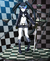 Black Rock Shooter by Rainbowshi