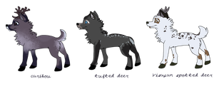 Wolf-deer adopts .:: 1/3 OPEN-PRICE REDUCED ::. by slanderxoxo