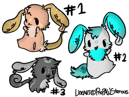 Earmouth adoptables by Twenty-Five