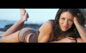 Evangeline Lilly Wallpaper by seb88