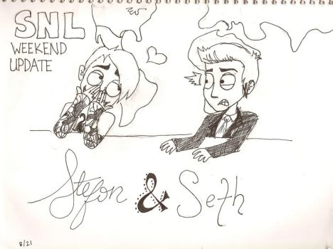 Stefon and Seth WIP by Izzabella43