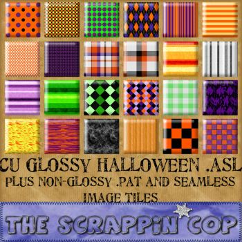 Halloween Colors pat and asl by debh945