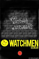 Watchmen Movie Poster 2 WIP by policegirl01