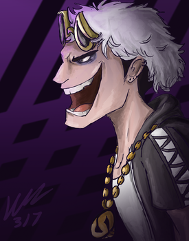 Team Skull Leader Guzma by DelightfullyFreaky