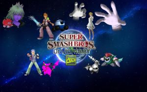 Super Smash Bros. Deviantart by RoxasXIIkeys
