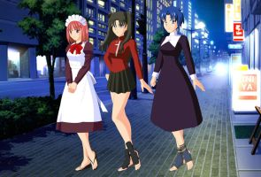 new look for type moon girls by Hisui-lover