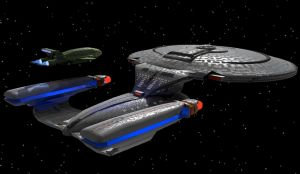 Thunderbird and Enterprise D by Hatvok