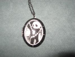 Jack and Sally Locket by PrincessCarol