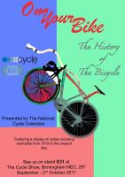 Bike Museum Poster by StuDocWho