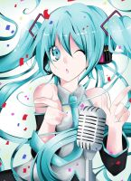 Hatsune Miku Show by SkeletonCarousel