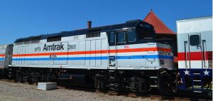 Amtrak F40 406 by CSX5344