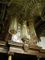 Choir Room at Oxford by TheBuggiest