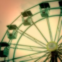 Wheel in Green and Orange by pubculture