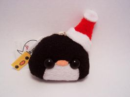 Pudding Santa Penguin by quacked
