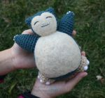 Travel-Sized Snorlax by aphid777