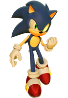 Sonic Forces Sonic the Hedgehog Render by JaysonJean