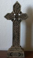 celtic cross tombstone by Gothicmamas-stock