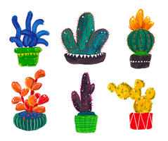 Cactuses by nei-no