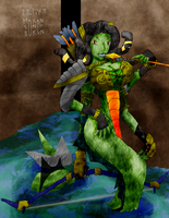 WC3 Naga Sea Witch - for KCG by samutoka