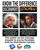 Judgment and Discernment by paradigm-shifting