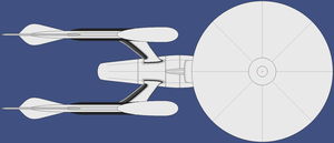 Star Trek 'Curvy Connie' Top View wip by Danny420Dale