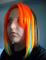NEON MOFO HAIR EXTENSIONS by angeleyezxtc