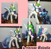 Princess Celestia Happy Meal by XantheStar