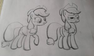 Sketches early morning AJ by CookiesAndCakes