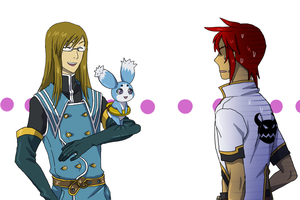 :ToA: Mocking Luke by Inupii