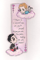 Klaine - bookmark by ivy11