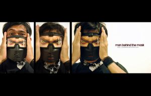 man behind the mask by polisitidur