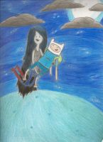 Finn and Marceline by AlexisM96