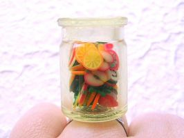 Fruit Slices In A Jar by souzoucreations