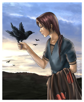 Itachi and his crow... by p3TriFi3d